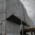 習志野保健所は改修工事中